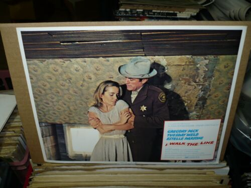 I WALK THE LINE, orig 1970 LC #4 (Gregory Peck, Tuesday Weld)
