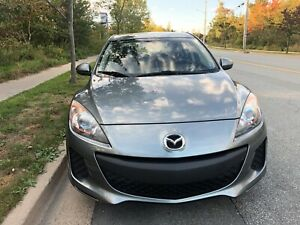 2012 Auto Mazda3: Mint, One Owner, Xtra Tires