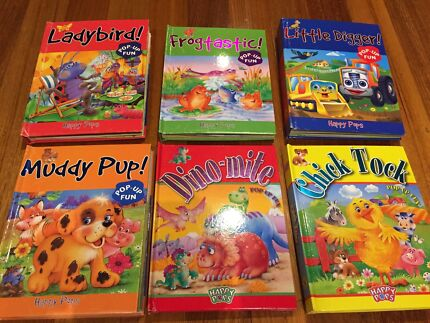 6x Happy Pops Kids Pop Up Story Books Templestowe Manningham Area Preview