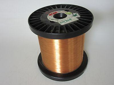34 Awg 8.40 Lbs. Elektrisola E180 Single Enamel Coated Copper Magnet Wire