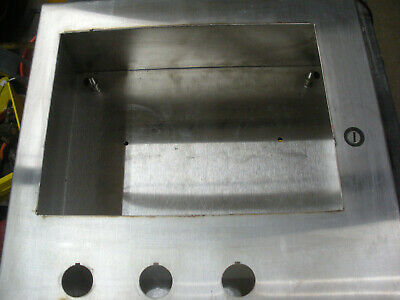 Stainless Enclosure 16 X 16 X 6 Hinged Door Hoffman Csd16166ss Nema 3r4x12