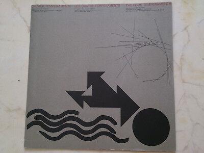 DIE VIER TEMPERAMENTE  *RARE SWISS CIBA GEIGY 60s VINYL LP*