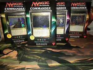 Magic the Gathering Commander 2016