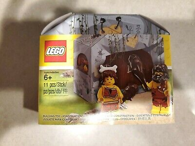NEW SEALED LEGO 5004936 Caveman Cavewoman Minifigure Minifig Set