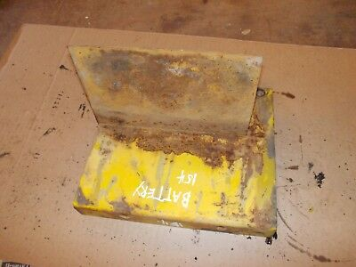 International Cub 154 Lo Low Boy Tractor Ih Battery Box Tray Mounts Mount