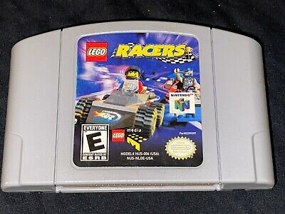 LEGO Racers (Nintendo 64, 1999) Cleaned / Tested / Authentic - N64