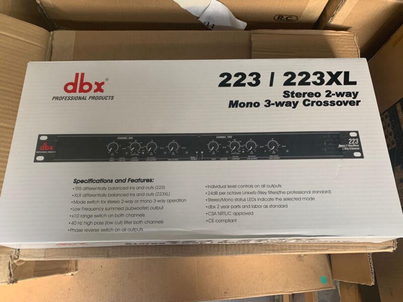 DBX Crossover Xover X-over 223 NIB