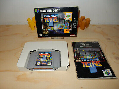 PAL N64: the New Tetris CIB OVP Complete Boxed with Manual Nintendo 64