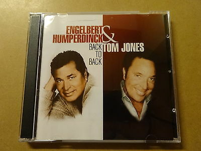 2-DISC CD / ENGELBERT HUMPERDINCK, TOM JONES: BACK TO BACK