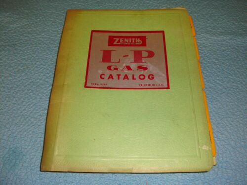 Zenith Carburetor Manual - L-P Gas