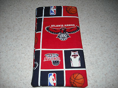Sunglass / Eyeglass Soft Fabric Case - Atlanta Hawks - NBA - Support Your (Hawkings Sunglasses)