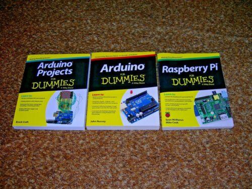 Arduino, Arduino Projects & Raspberry for Dummies.