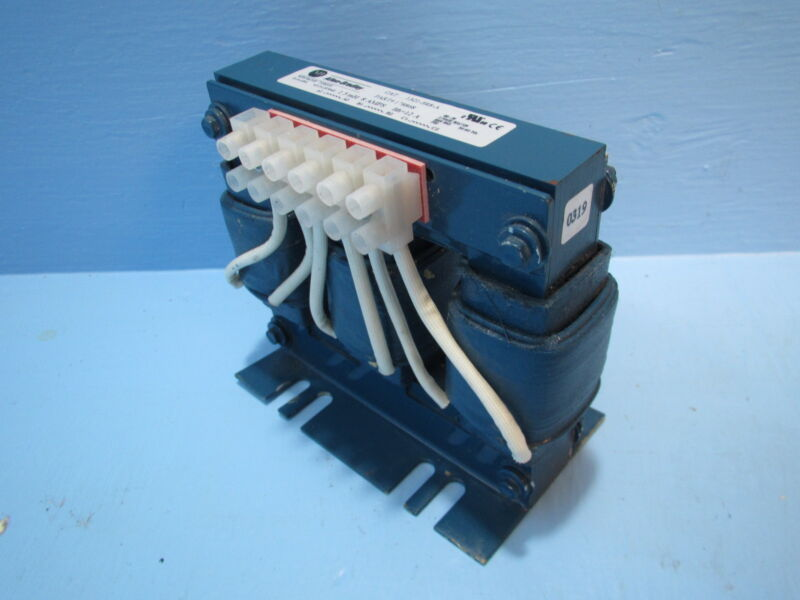 Allen-Bradley 1321-3R8-A Line Reactor Drive Open Transformer 178868 3 PH 8 Amp A