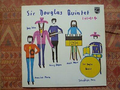 SIR DOUGLAS QUINTET - 1+1+1=4 ( LP - German Philips - 1970 - Blues Rock / Ex
