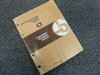 John Deere Kf82d Fz340d Fc290v Air Cooled Engine Service Repair Manual Ctm5