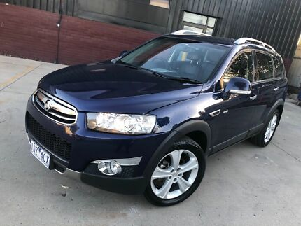 2011 Holden Captiva LX 7 SEATER TURBO DIESEL REGO+RWC Campbellfield Hume Area Preview