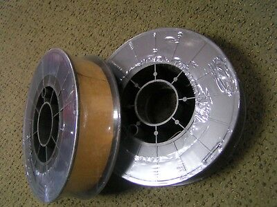 Two 11 Lb Spools .er70s-6 X 035 Mild Steel Mig Welding Wire