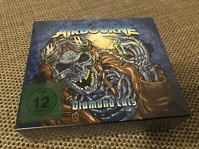 Airbourne DIAMOND CUTS (DELUXE EDT. Box Set) 4 CD + DVD NEW...