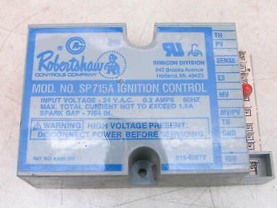 Robertshaw Sp715a Ignition Control Module 018-00077