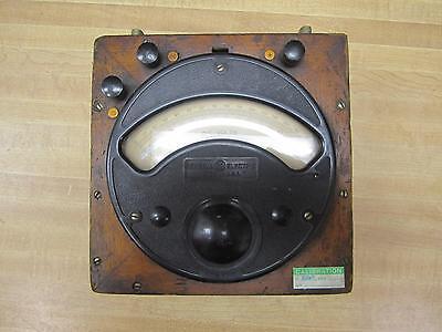General Electric 8dp2 Antique D-c Volt Meter Vinage Industrial