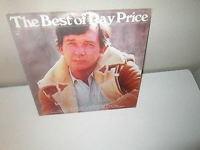 BEST OF RAY PRICE rare Country LP Vinyl (Columbia Records 1976)