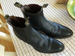 R.M.Williams Dress Boots Size 8 1/2 Downer North Canberra Preview