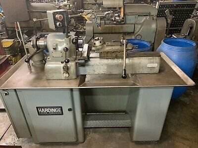 Hardinge Dsm-59 Lathe Variable Speed 21sc Collet Super Precision