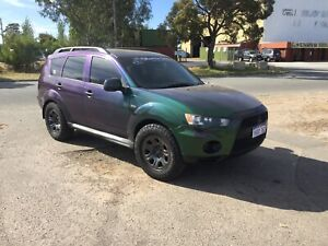 """2010 Mitsubishi Outlander 4WD AUTO """"FREE 1 YEAR WARRANTY"""" Welshpool Canning Area Preview"""