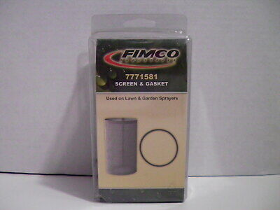 Fimco Industries 7771581 Lawn Garden Sprayer Screen And Gasket