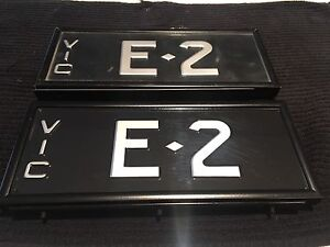 Vic Numbers Plates Docklands Melbourne City Preview