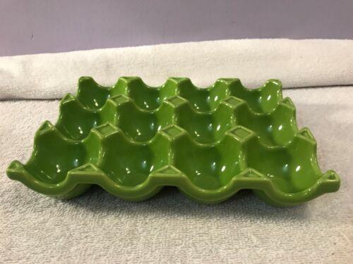 Ceramic Green Egg Holder 1 dozen Food Network OH3489