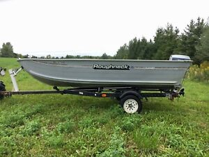 ***14' BOAT, MOTOR AND TRAILER***