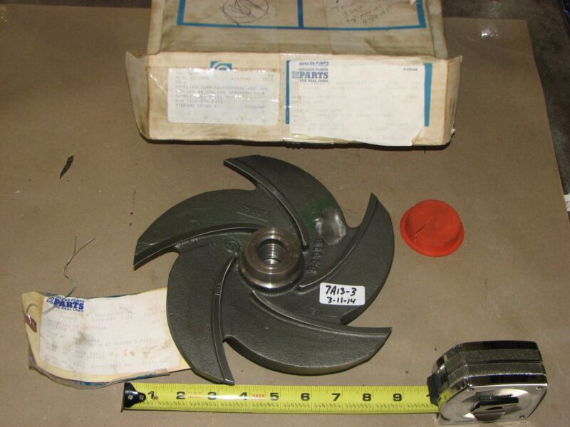 NEW IN BOX GOULDS PUMP IMPELLER 0100-594 1013 FOR PUMP MODEL 3196 1-1/2 X 3 X 10