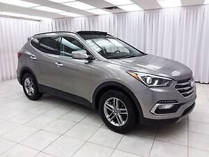 2017 Hyundai Santa Fe SPORT AWD SUV w/ BLUETOOTH, HEATED LEATHER