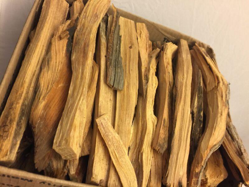 All Natural Fatwood Kindling Fire Starter Sticks 6 lb Box Turpentine Resin Wood