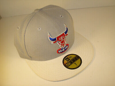 Chicago Bulls WIndy City 59Fifty Baseball Hat 7 New Era MINT