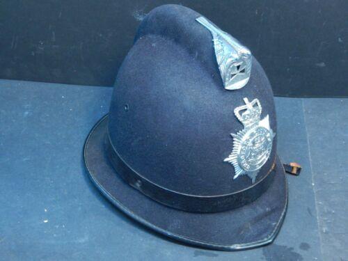 Vintage European British Bobby Police Hat Bradford United Kingdom Real
