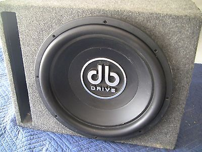 DB Drive 15.5 inch 2000W Subwoofer & Ported Vented Sub Box Enclosure COMBO (Db Drive Subs)