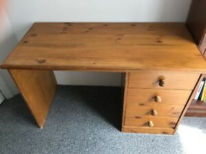 Timber desk with free delivery