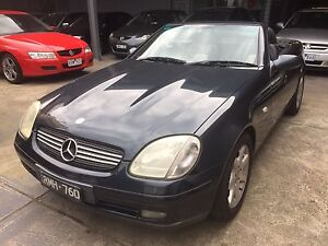 1998 Mercedes-Benz SLK230 Convertible Brunswick Moreland Area Preview