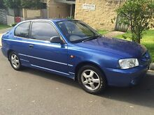 2002 Hyundai Accent, Automatic, 85km, August Rego Queenscliff Manly Area Preview