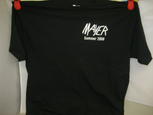 Rare John Mayer Men's XL 2008 Summer Tour Concert Black Shirt (Brand New W/ Tags
