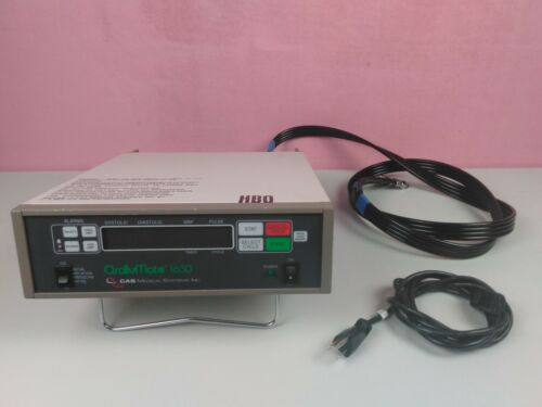 CAS Medical Systems Oscillomate Blood Pressure Monitor Model 1630