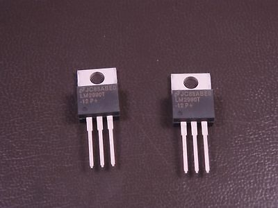 Lot Of 2 Lm2990t-12 National Semi Negative Ldo Regulator -12v 1.8a 3 Pin To-220