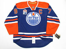 McDAVID EDMONTON OILERS AUTHENTIC HOME INAUGURAL SEASON REEBOK EDGE 7231 JERSEY
