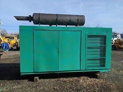 Onan Cummins Turbo Diesel 200 Kw Generator With Enclosure