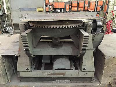 40000 Lb. Ransome Welding Positioner Model 400p 84 X 84 Table 135 Deg Tilt