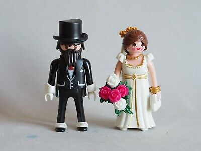 PLAYMOBIL Pareja de Novios, Victoriano, Boda, Wedding, Brides, Tarta, NUEVO NEW