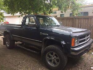1989 Dodge Dakota 4x4
