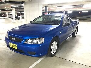 Immaculate 3 seater 2005 Bf MKII Ford Falcon Ute workute XL - LPG Elderslie Camden Area Preview